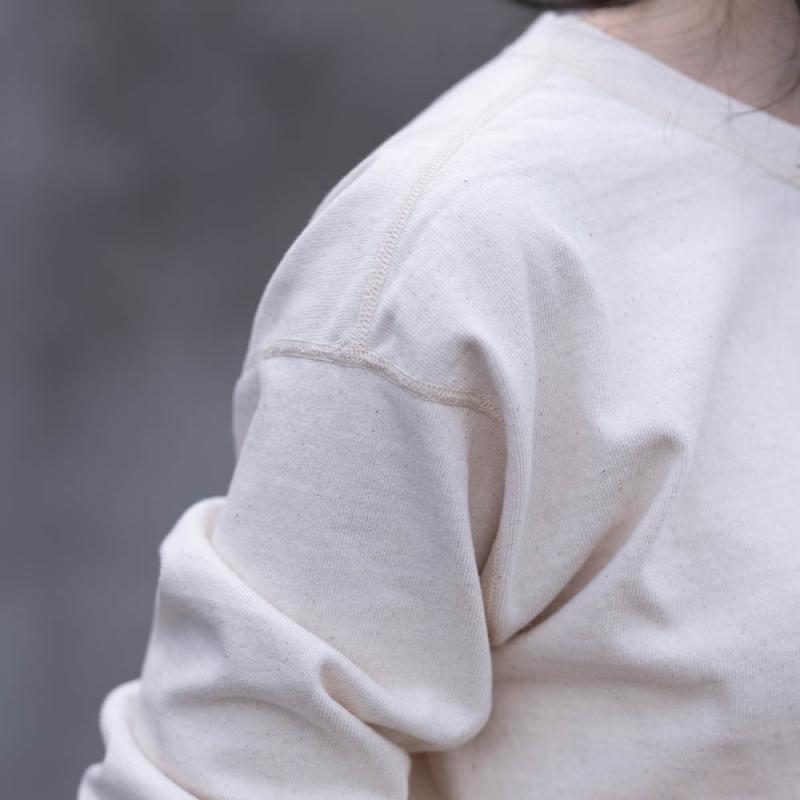 ヘルスニットオーセンティックのスキッパー長袖Tシャツ