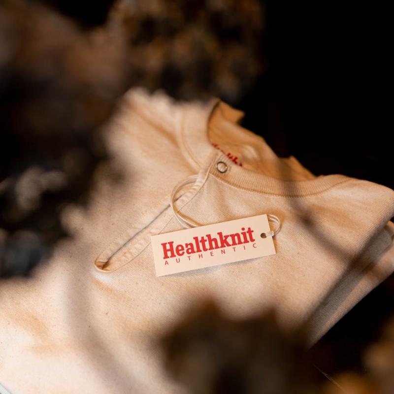 Healthknit Authenticのレディースのスキッパーカットソー