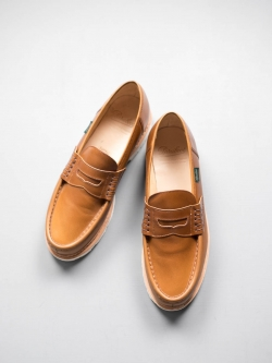 PARABOOT | REIMS/MARCHE Blanche-Lis Ocre レザーローファー ランスの商品画像