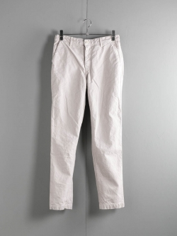 EASY CHINO(LONG) ARMY DUCKS 10OZ Garment Dyed Stone