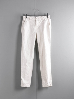 EASY CHINO(LONG) ARMY DUCKS 10OZ Garment Dyed Ice