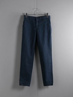 Tapia LOS ANGELES | EASY CHINO(LONG) ARMY DUCKS 10OZ Garment Dyed Marine ダック生地テーパードパンツ