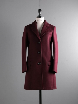 CHESTERFIELD COAT 4572MM Burgundy