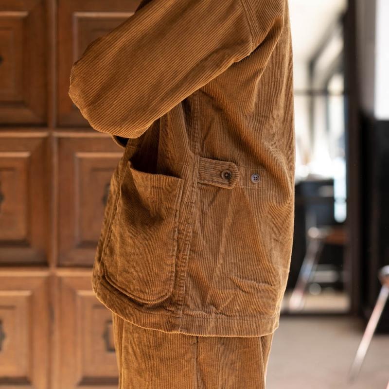 エンジニアドガーメンツのコーデュロイロイタージャケットのXSサイズ