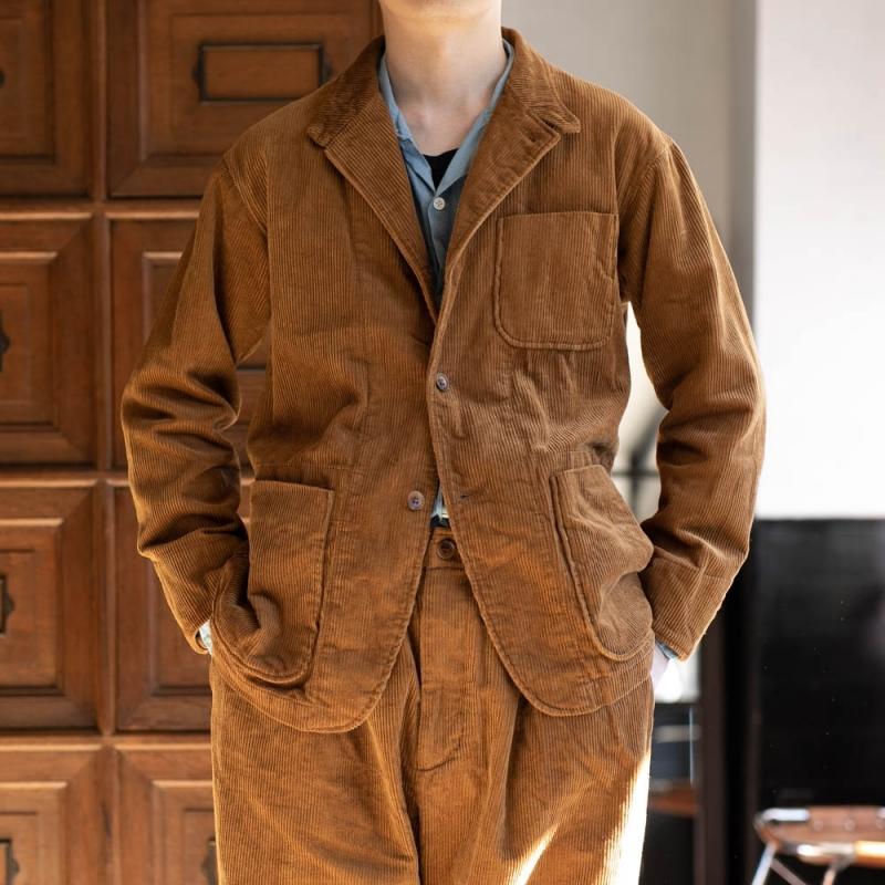 エンジニアドガーメンツのコーデュロイシャツジャケットの通販
