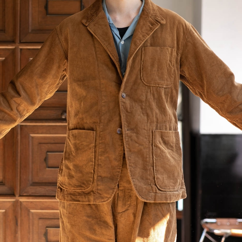 ENGINEERED GARMENTSのコーデュロイシャツジャケットの通販