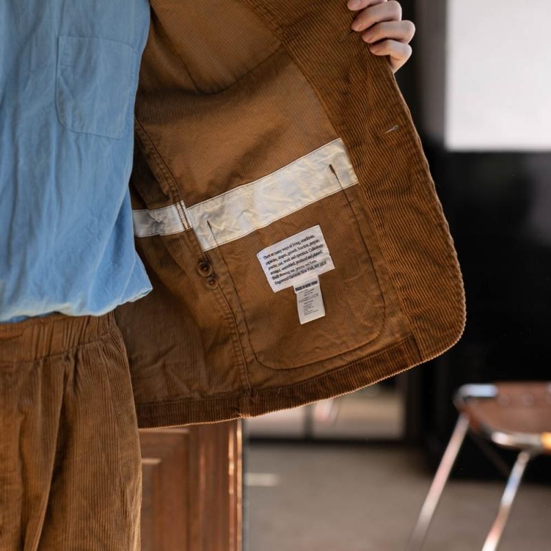 エンジニアドガーメンツのコーデュロイワークジャケットの通販