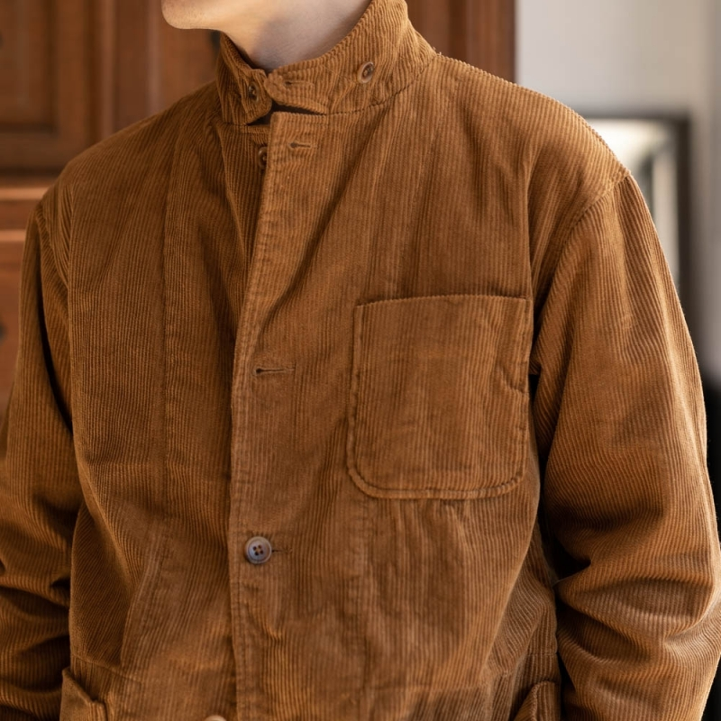 ENGINEERED GARMENTSのLOITER JACKET – 8W CORDUROYのキャメル