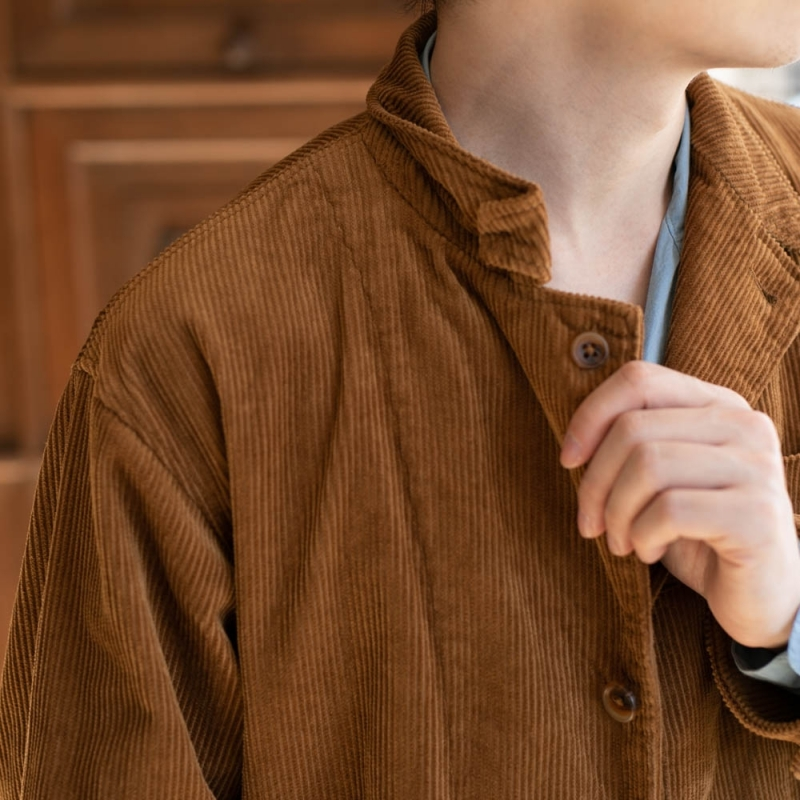 ENGINEERED GARMENTSのLOITER JACKET – 8W CORDUROYのChestnut
