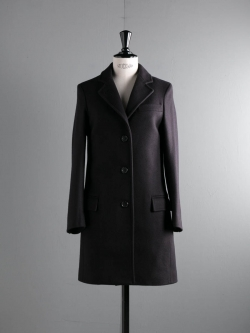 GLOVERALL | CHESTERFIELD COAT 4572MM Navy メルトンチェスターコート
