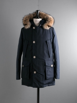 WOOLRICH | ARCTIC PARKA DF Melton Blue アークティックパーカーの商品画像