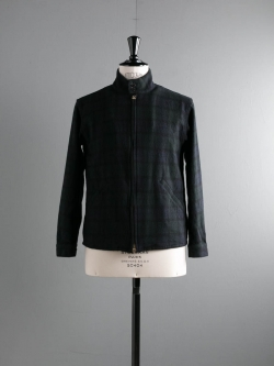 ARBRE | HARRINGTON JACKET FLANNEL Black Watch フランネルハリントンジャケットの商品画像