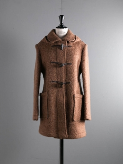 GLOVERALL | MID LENGTH DUFFLE COAT Y2006WMT Brown ミドル丈ダッフルコートの商品画像