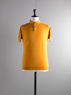 JOHN SMEDLEY | RHODES Topstitch コットン半袖ポロシャツの商品画像