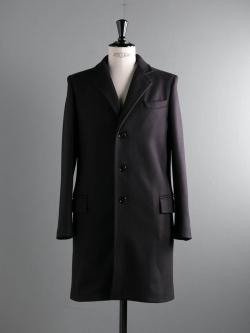 GLOVERALL | CHESTERFIELD COAT 3583MM Black メルトンチェスターコートの商品画像