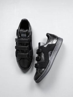 Adidas | BY RAF SIMONS STAN SMITH COMFORT BADGE Core Black アディダスバイラフシモンズ スタンスミスコンフォートの商品画像