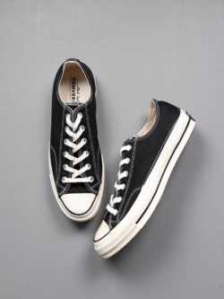 CONVERSE | CHUCK TAYLOR ALL STAR '70 LOW TOP Black CTAS 70 OX チャックテーラー ローカットの商品画像