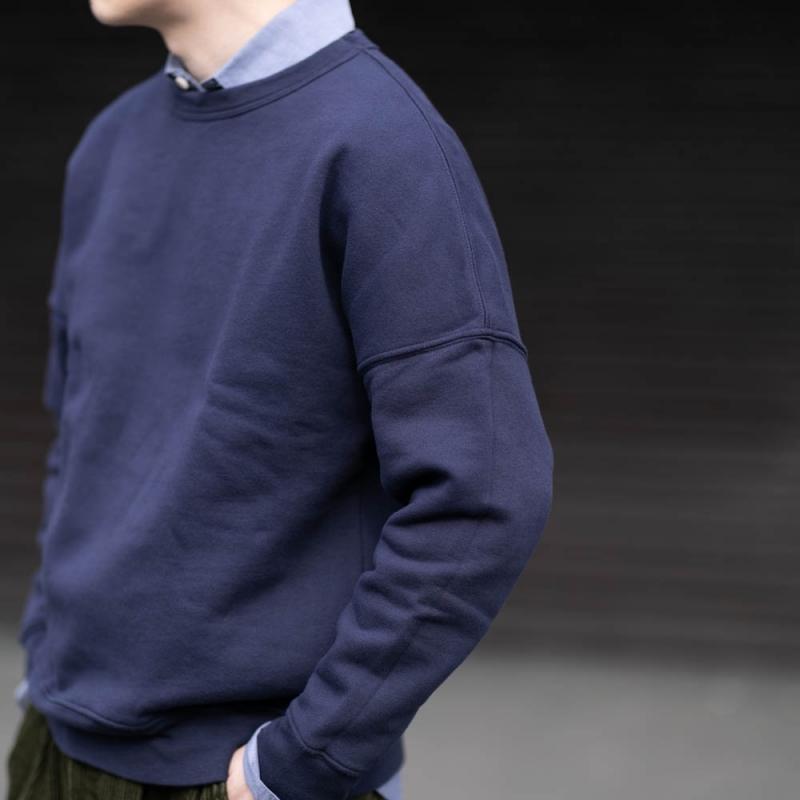 タピアロサンゼルスのガーメントダイスウェットシャツのマリーンの通販
