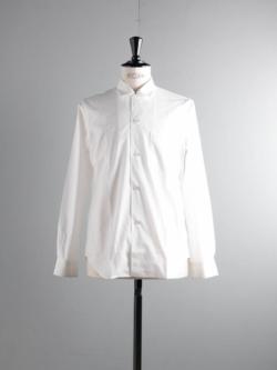 Sans Limite | W1301005 SH05 White ブロード小開襟シャツの商品画像