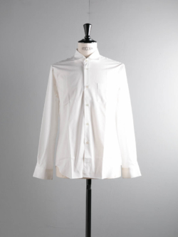 Sans Limite | W1301004 SH04 White ブロードワイドスプレッドシャツ