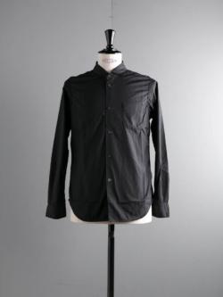 Sans Limite | W1801017 SH04 Black ブロード3本針ワイドスプレッドシャツの商品画像