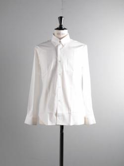 Sans Limite | W1301002 SH02 White ブロードボタンダウンシャツ