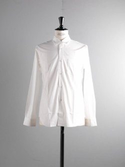 Sans Limite | W1301001 SH01 White ブロードレギュラーカラーシャツの商品画像