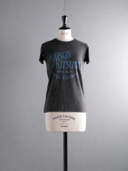 MAISON KITSUNE | TEE SHIRT PALAIS ROYAL Black 半袖プリントTシャツの商品画像