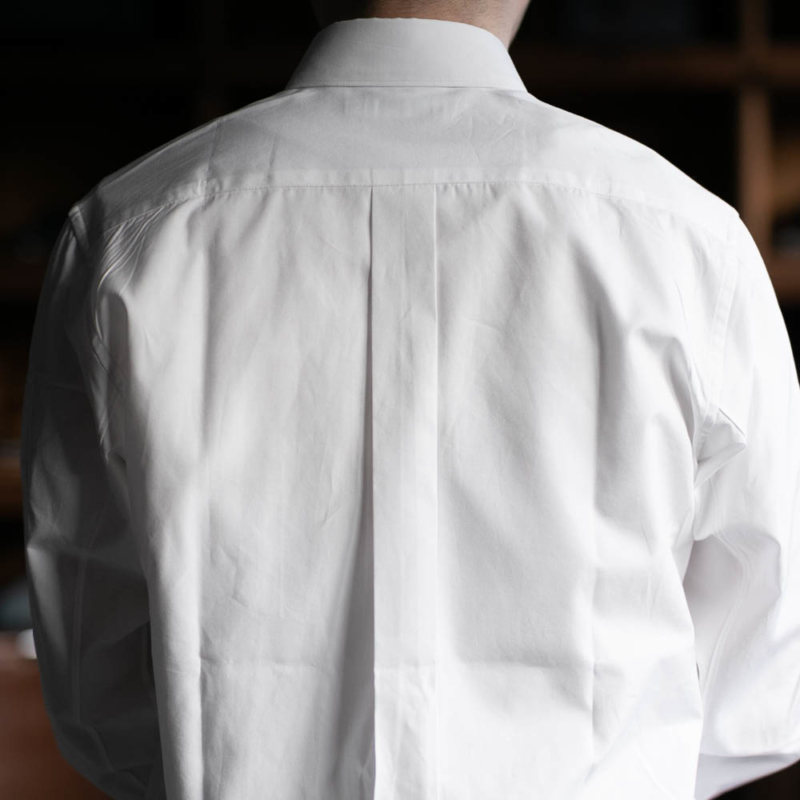 sans limiteのレギュラーカラーブロードshirtのホワイトの通販