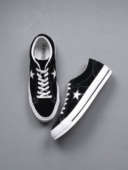 CONVERSE | ONE STAR PREMIUM SUEDE LOW TOP Black ワンスタースウェードローカットの商品画像