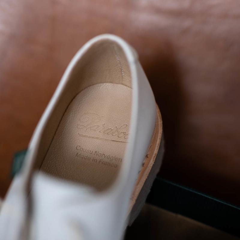 パラブーツのVELEY/GRIFF Miel-Liege Blancの通販