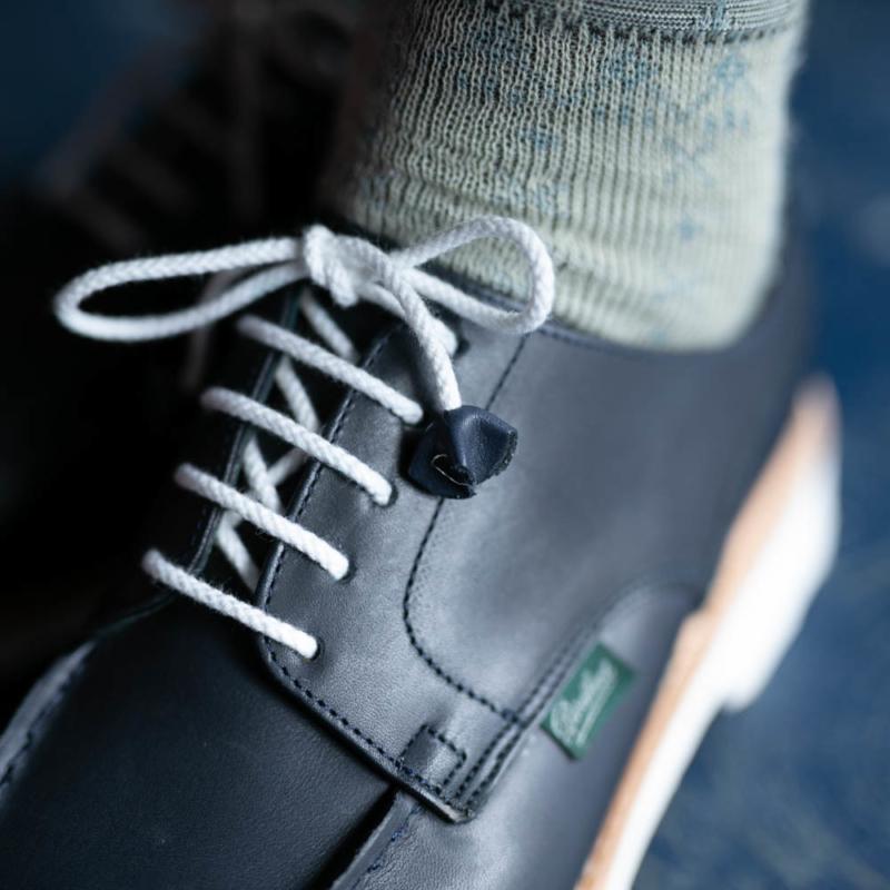 paraboot女性用革靴chambordのnavyの取り扱い