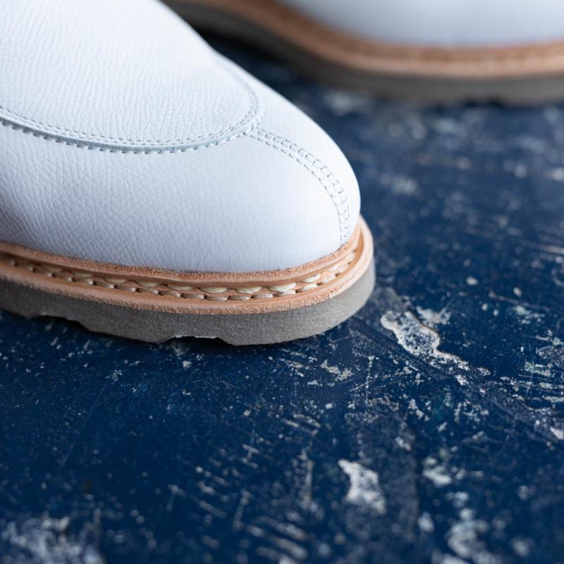 パラブーツの女性用革靴のVELEYの白色の通販