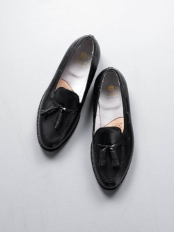 Alden | THE ORIGINAL TASSEL MOCCASIN [660] Black Calfskin カーフタッセルローファーの商品画像