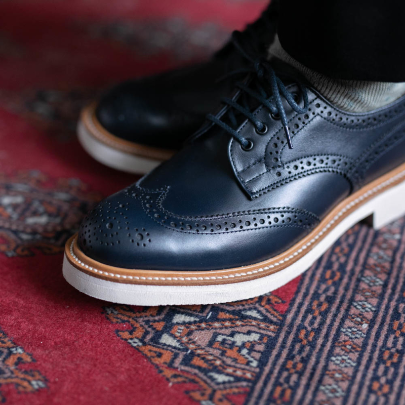 MACKINTOSH×Tricker'sのBROGUES SHOESのNavyの通販