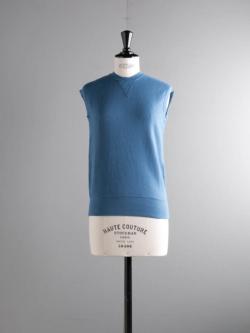 FilMelange | CADY Blue エアリネン裏毛フレンチスリーブスウェット キャディの商品画像