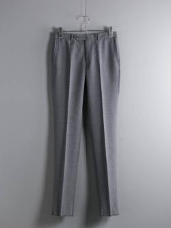 ARBRE | SLIM FIT DRESS PANTS M Gray トロピカルウールドレスパンツの商品画像