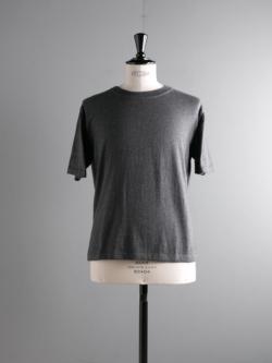 AULICO | TEE-SHIRT2 Grey コットンカシミアTシャツの商品画像