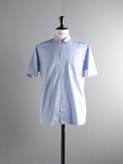 Sans Limite | SH05BH THOMAS MASON stripe ブロードボックス小開襟半袖シャツの商品画像