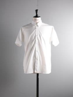 Sans Limite | SH01BH White ブロードボックスレギュラーカラー半袖シャツの商品画像