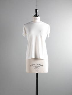 FilMelange | SUNNY GL White ニューリンダ天竺クルーネックTシャツ サニーの商品画像