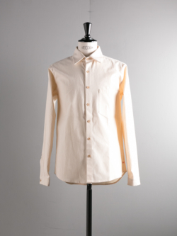 FRANK LEDER | VINTAGE BEDSHEET SHIRT 80:Natural ベッドリネンプレーンシャツの商品画像