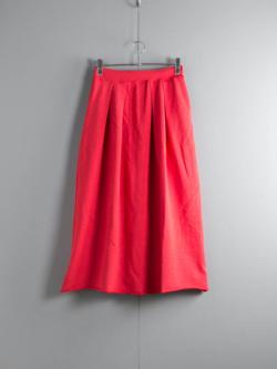 FilMelange | SHARON Vintage Red スラブミニ裏毛スカート シャロンの商品画像