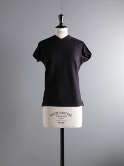 FilMelange | OLIVIA Black Navy 空紡カノコポロシャツ オリビアの商品画像