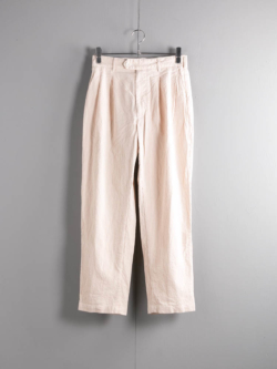 ENGINEERED GARMENTS | EMERSON PANT – SEERSUCKER ST. Beige エマーソンパンツの商品画像