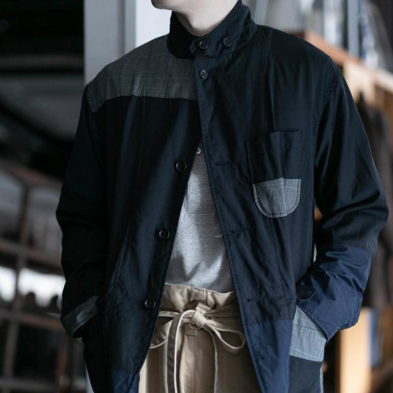 エンジニアドガーメンツのロイタージャケットのダークネイビー通販可