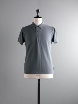 BATONER | BN-19SM-015 D.Blue サマーピケポロシャツの商品画像