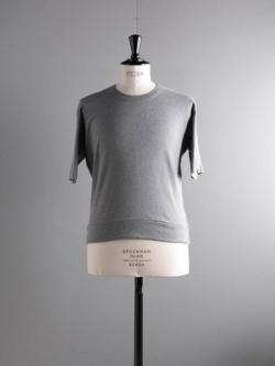 GICIPI | 1902P Gri. Mela. リブ編みリラックスフィットTシャツの商品画像