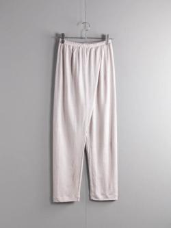 ABOUT | EMOCIJAPNTS Silver Grey リネンナイロンジャージーパンツの商品画像