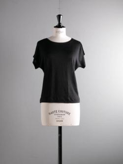 ABOUT | EMOCIJATOP Solid Black リネンナイロントップスの商品画像